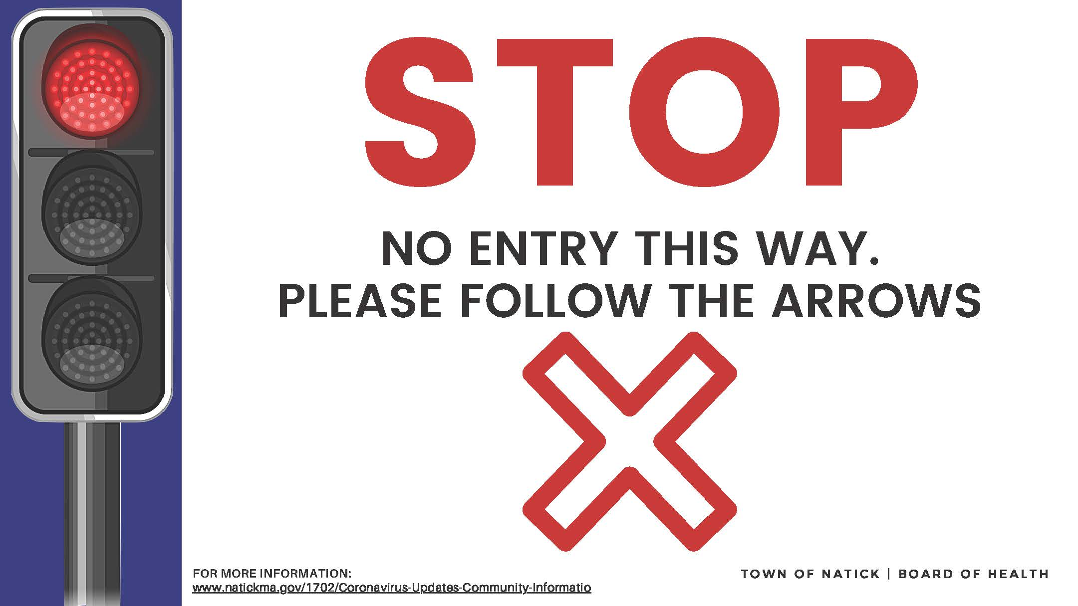 STOP no entry (Corrugated plastic) Outdoor Sign