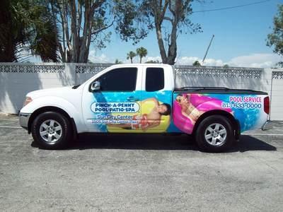 Digital Graphics Pick up Truck