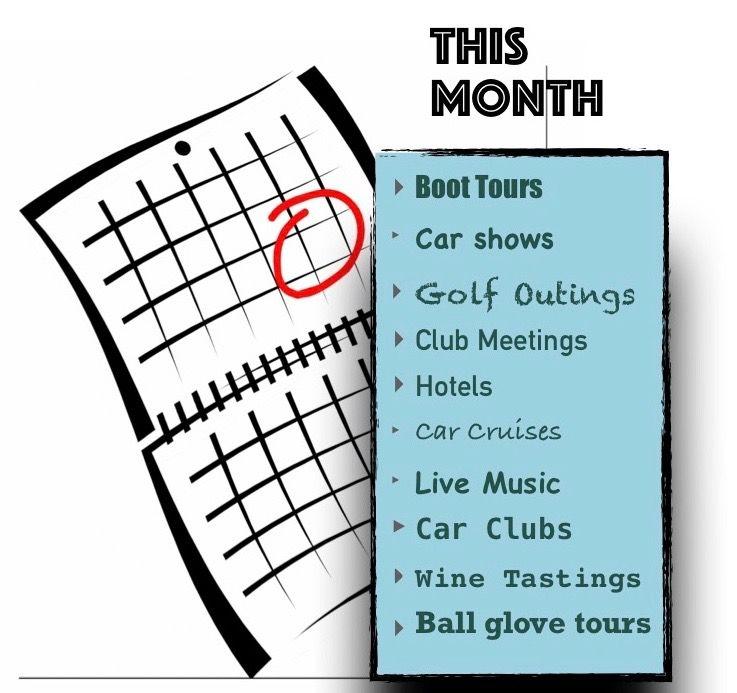 Events/Social 30 Day Calendar