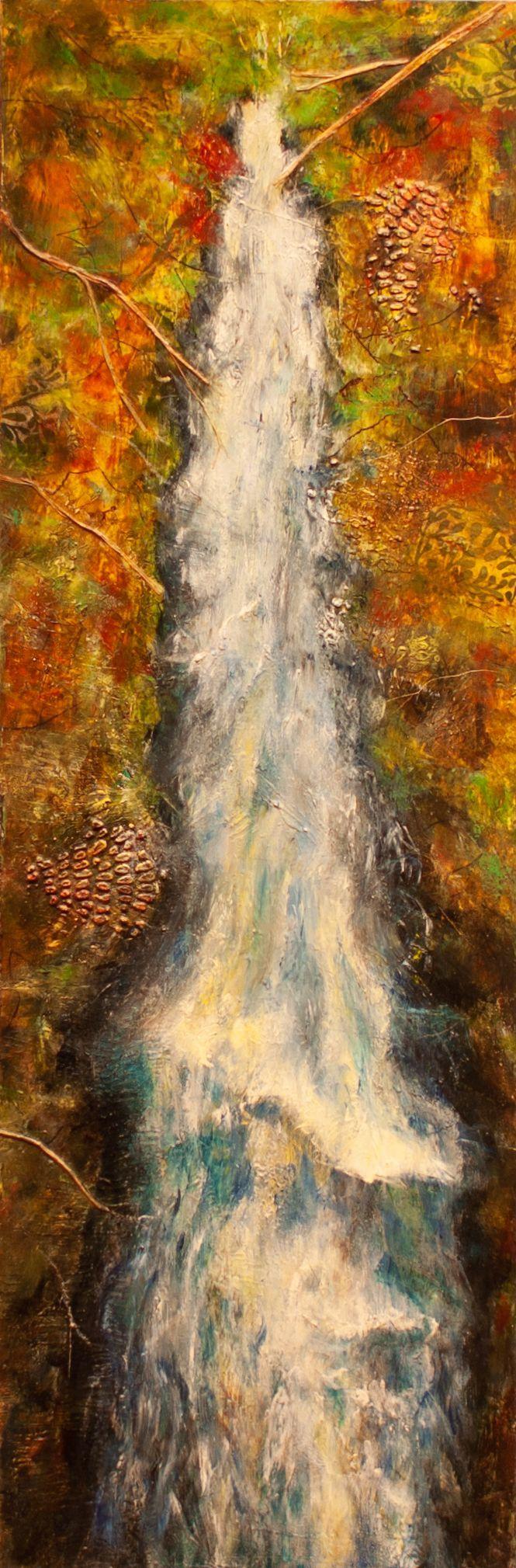 "Sandy Shepard - ""Ward Lake Bridge Overlook"""