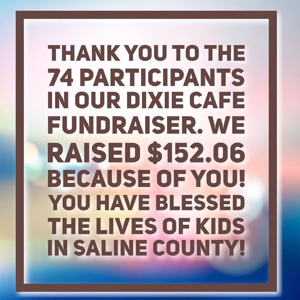 Dixie Cafe Fundraiser