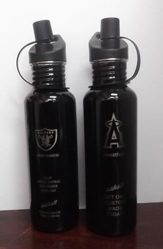 17oz or 25oz Colored Water Bottle