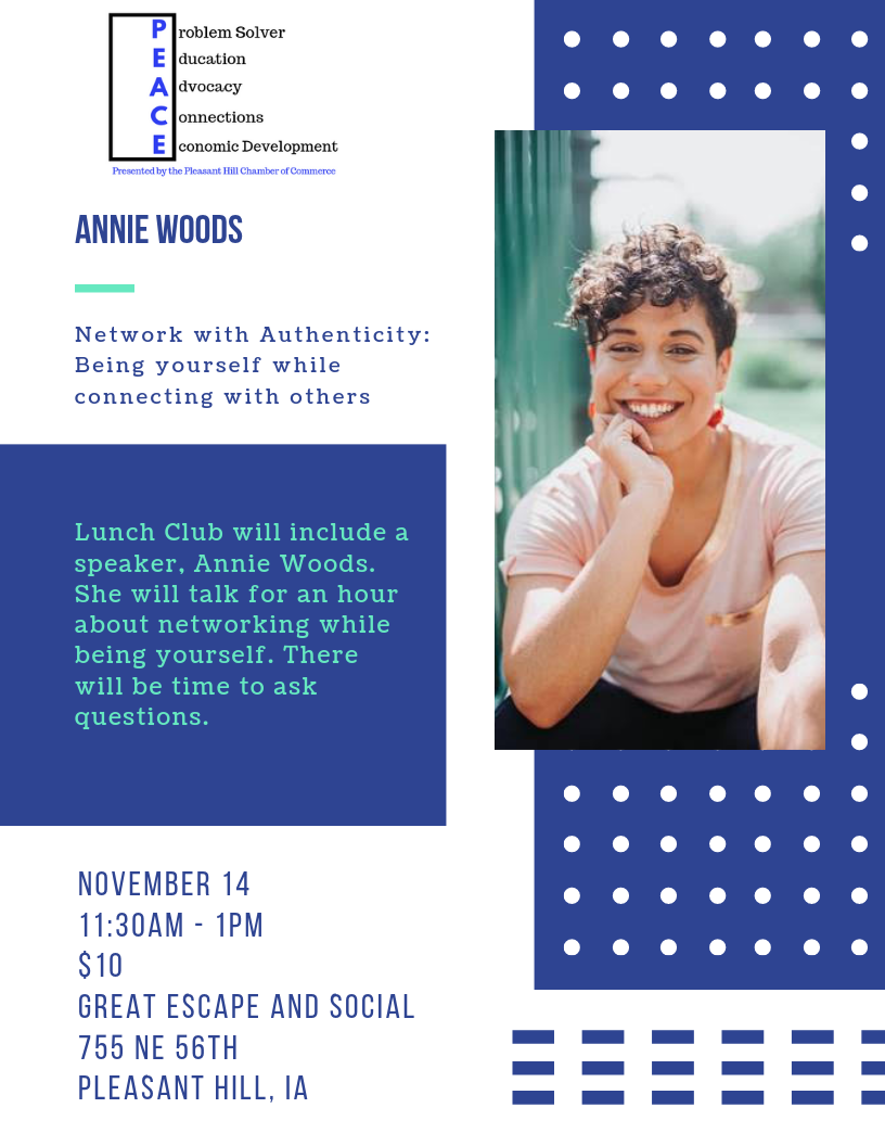 PEACE Training- Annie Woods
