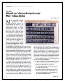 Microfiche Collection
