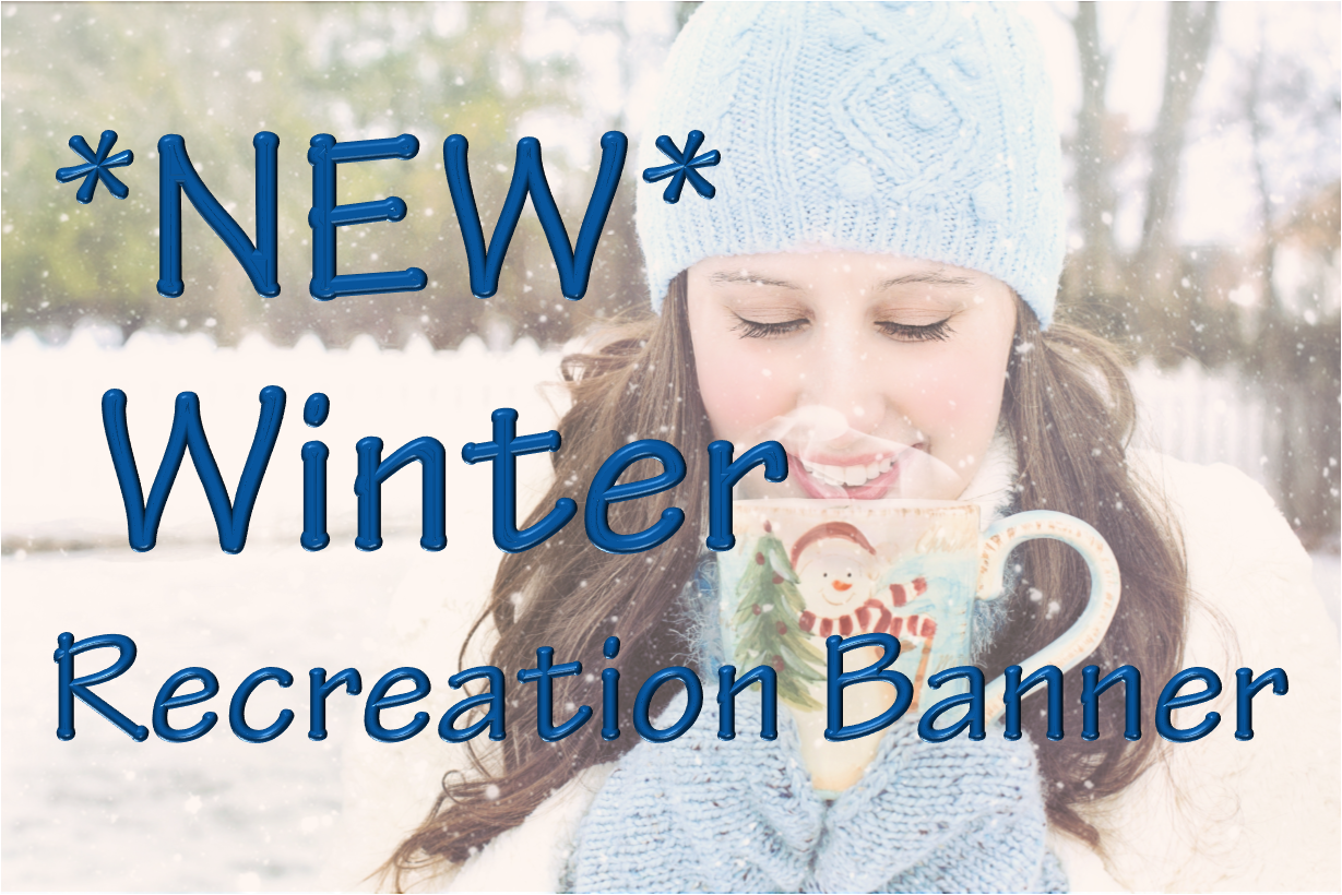 Winter Recreation Banner