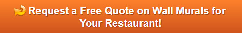 Free quote on restaurant wall murals in Orange County CA