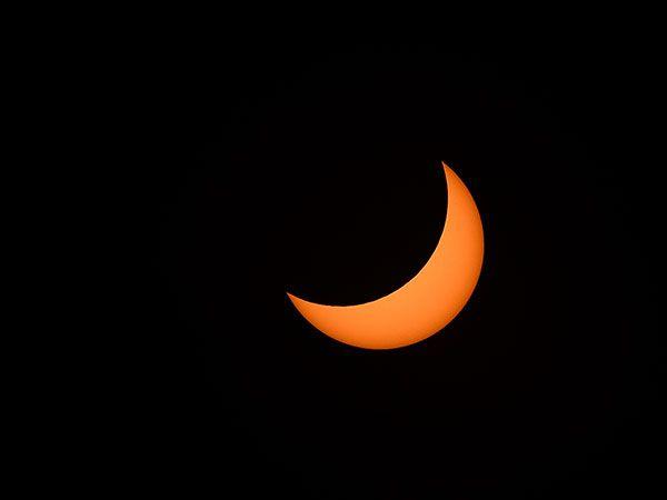 Solar Eclipse in Houston