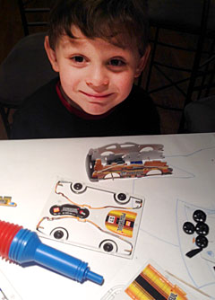 Aspiring Engineers Construct Cars for Flight  at the Cradle of Aviation Museum