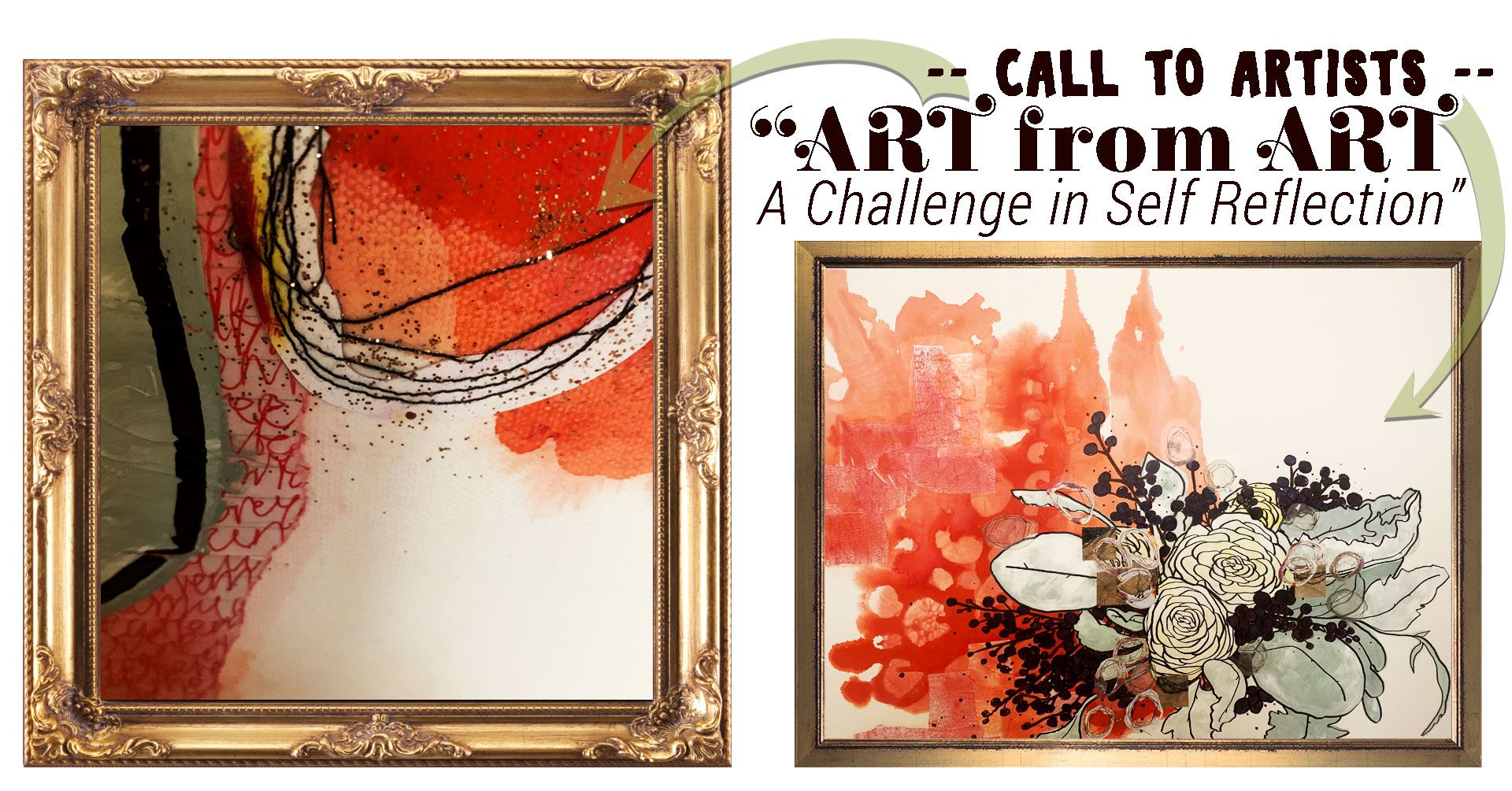 Art from Art: A Challenge in Self Reflection Call to Artists