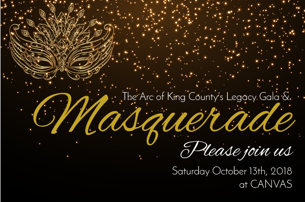 The Gala is Back! Join us October 13th for a Masquerade Gala!