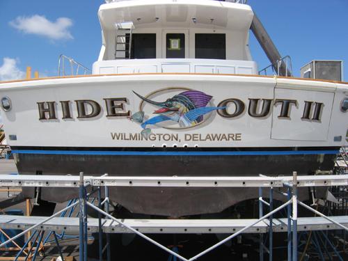"Viking Yacht ""Hideout II"""