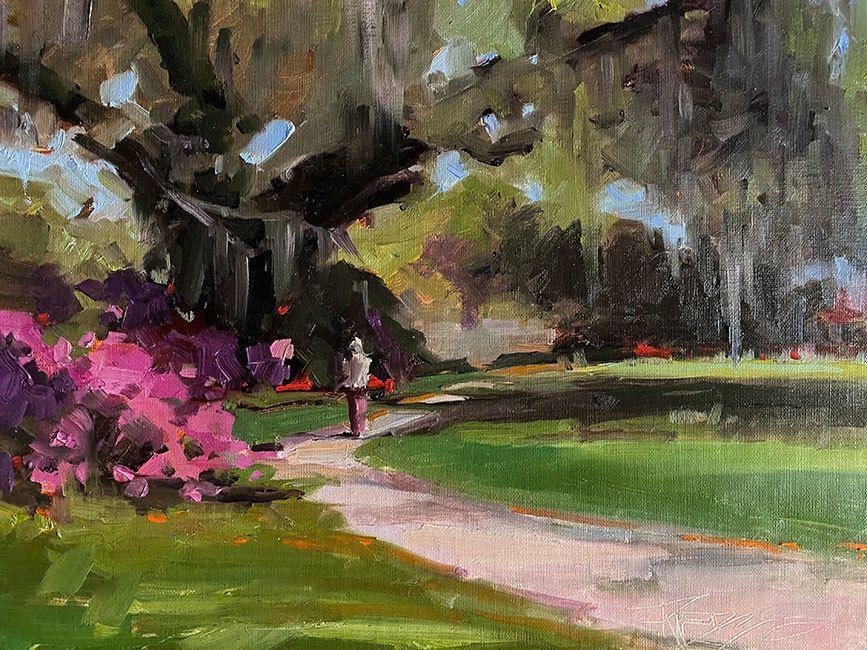 Spanish Moss at Magnolia Gardens