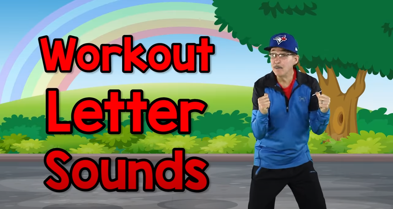 Workout To The Letter Sounds