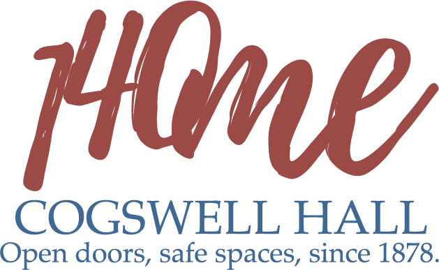Cogswell Hall @ 140: special logo, key message