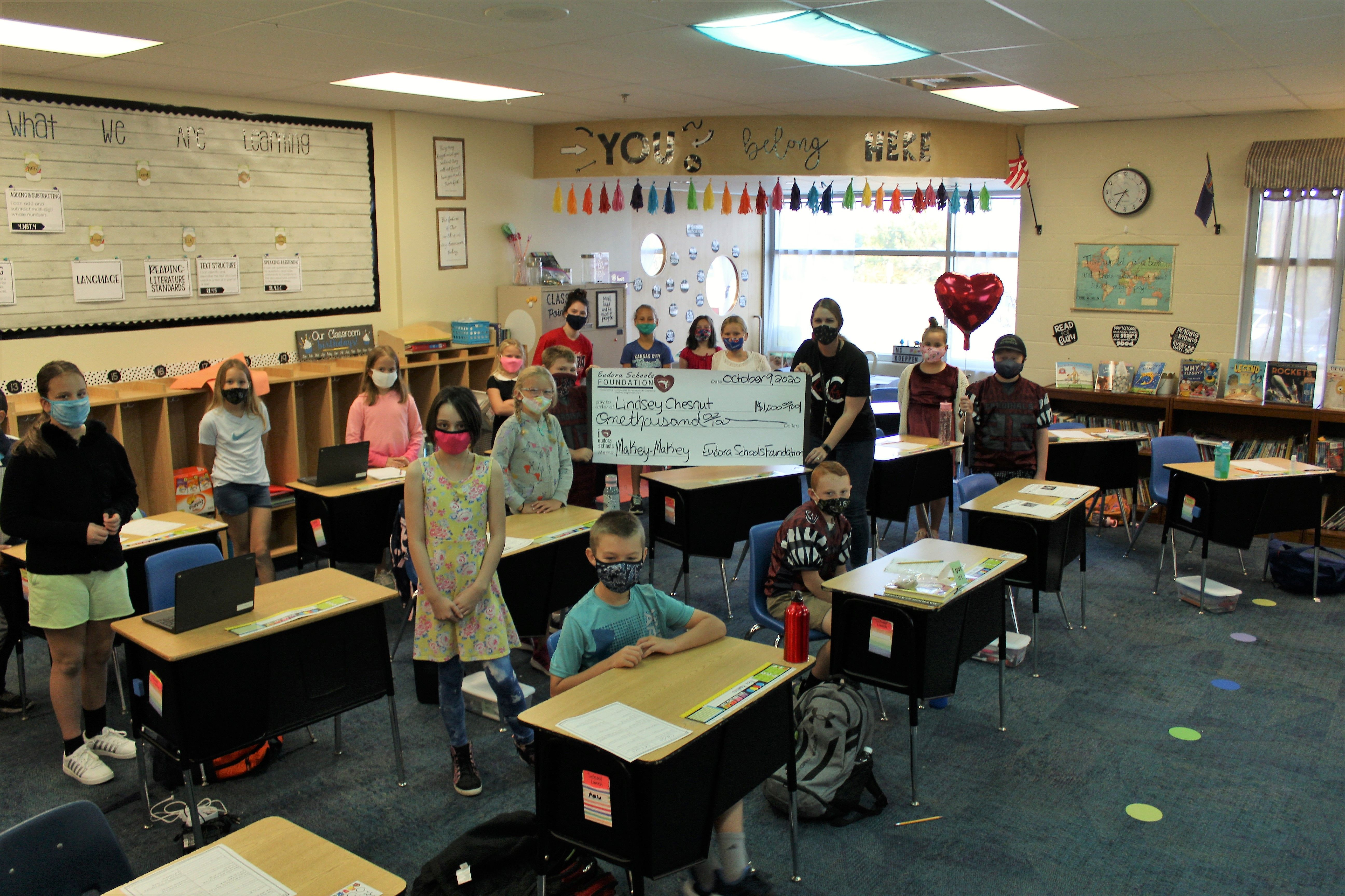 Announcing 2020 Teacher Excellence Grant Recipients