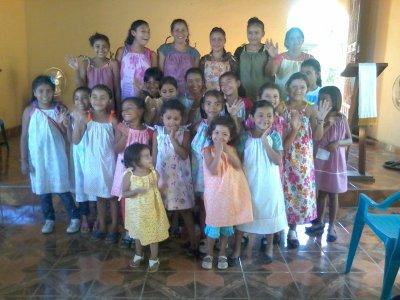 Pillowcase Dresses in Nicaragua