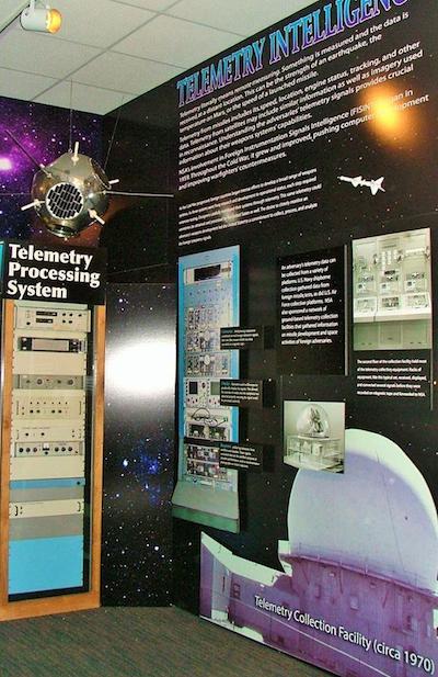 Telemetry Intelligence Exhibit at the National Cryptologic Museum