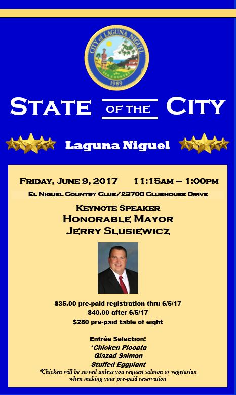 Laguna Niguel State Of The City Luncheon