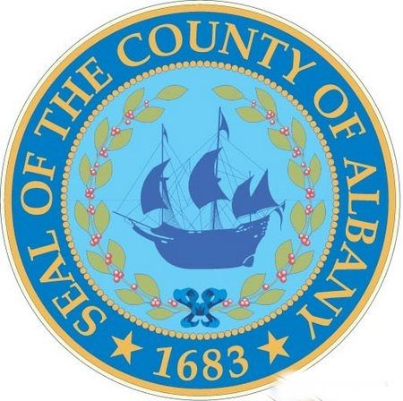 CP-1020 - Plaque of the Seal of Albany County, N.Y., Giclee