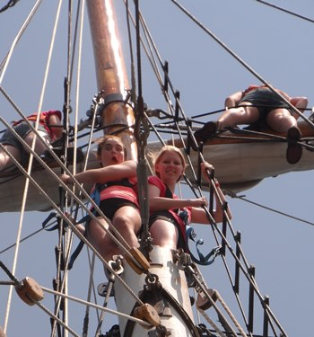 Girl Scout's Tall Ship Voyage of Discovery