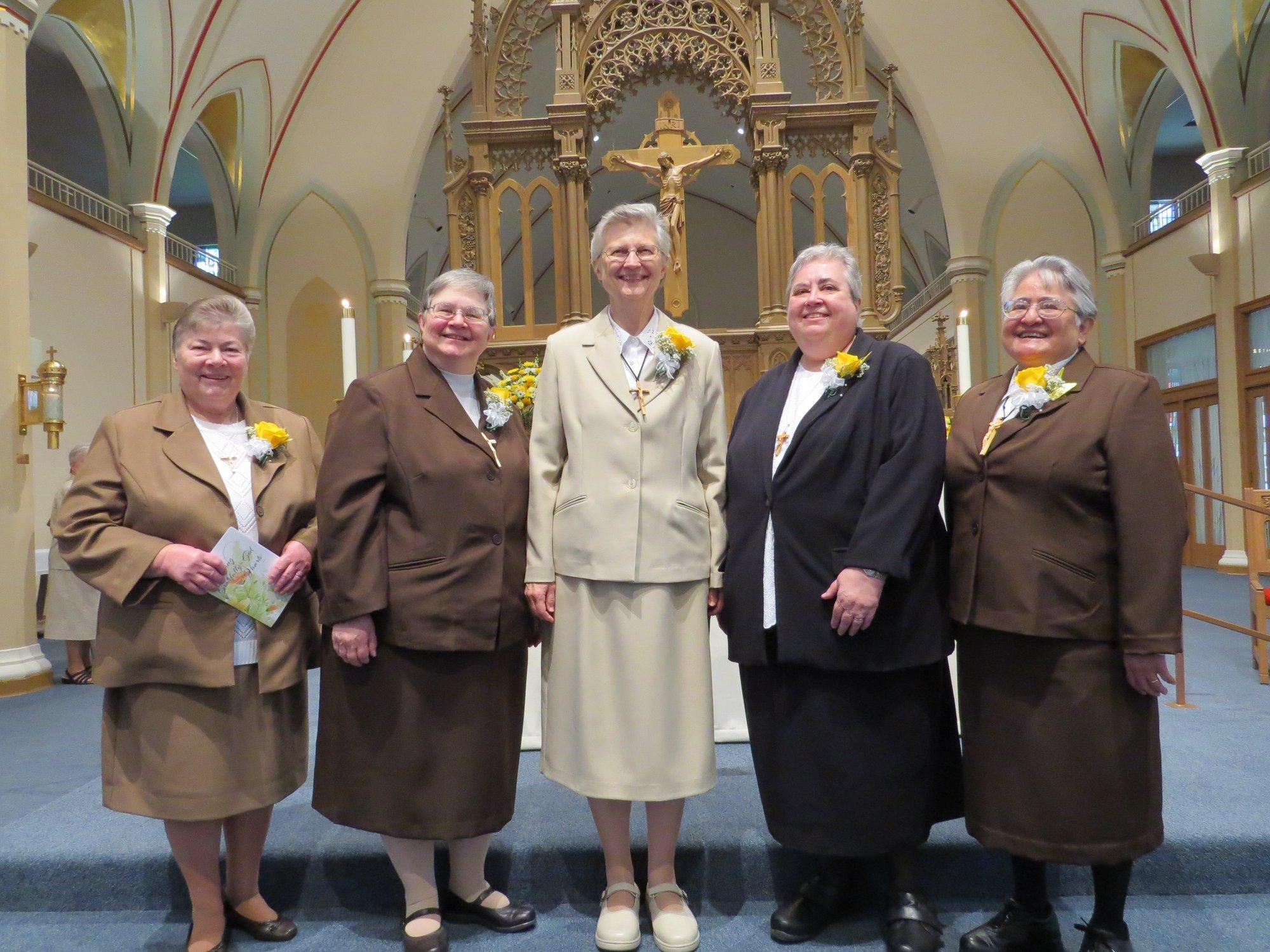 Felician Sisters Celebrate Golden Jubilees