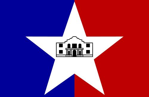 X33153 - Flag of San Antonio, Texas
