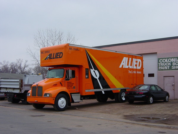 Fleet Graphics, Moving Van Lettering, Logo & Graphics