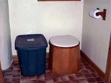 No Flush Toilet