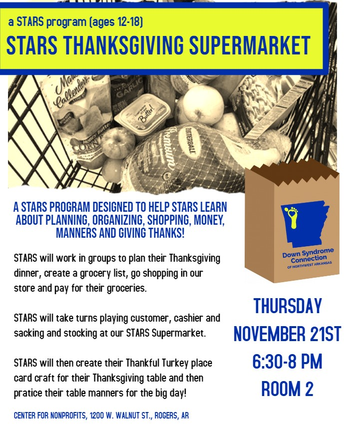 STARS Thanksgiving Supermarket