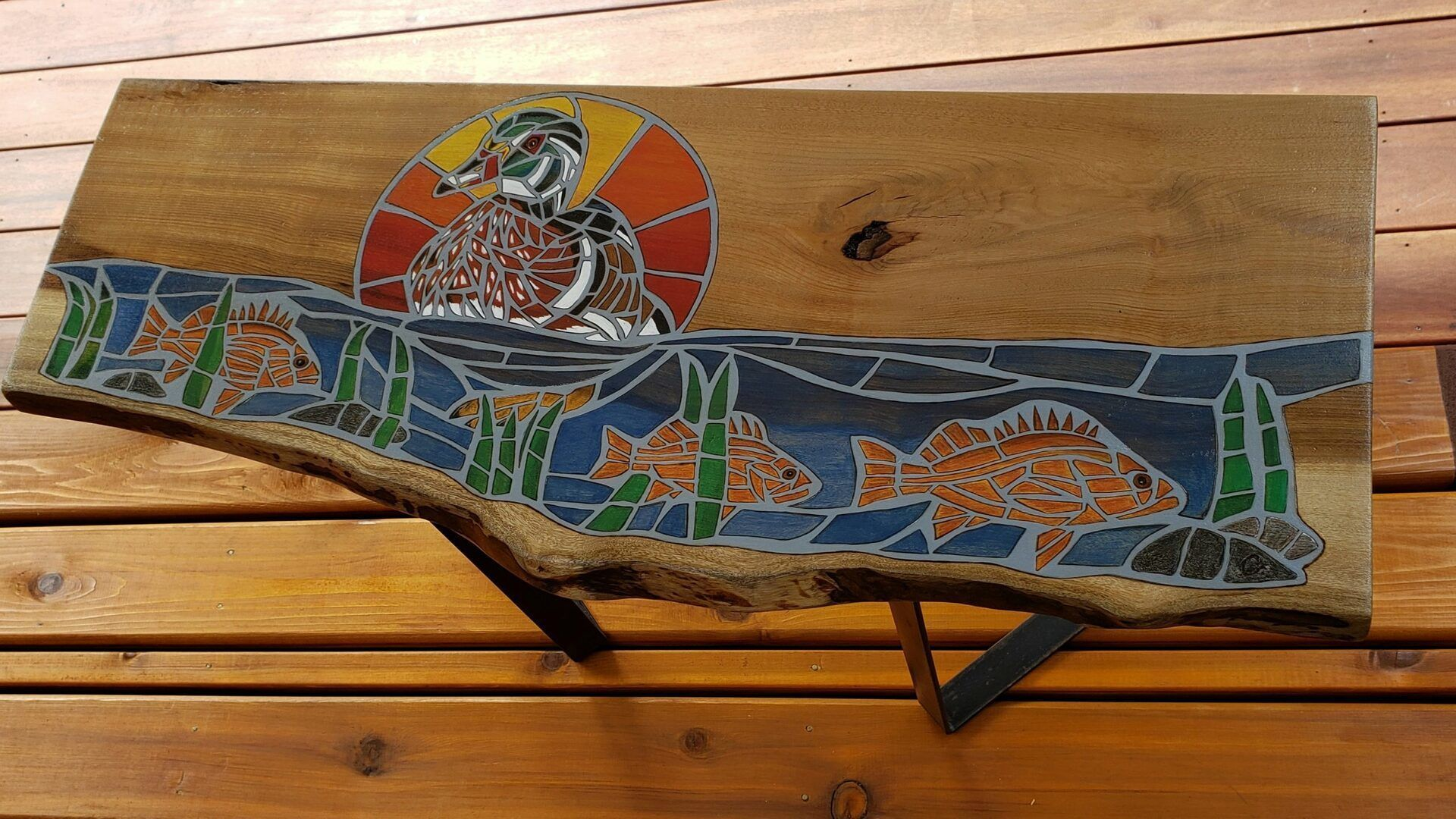 Rock Fish Myrtle Wood Duck