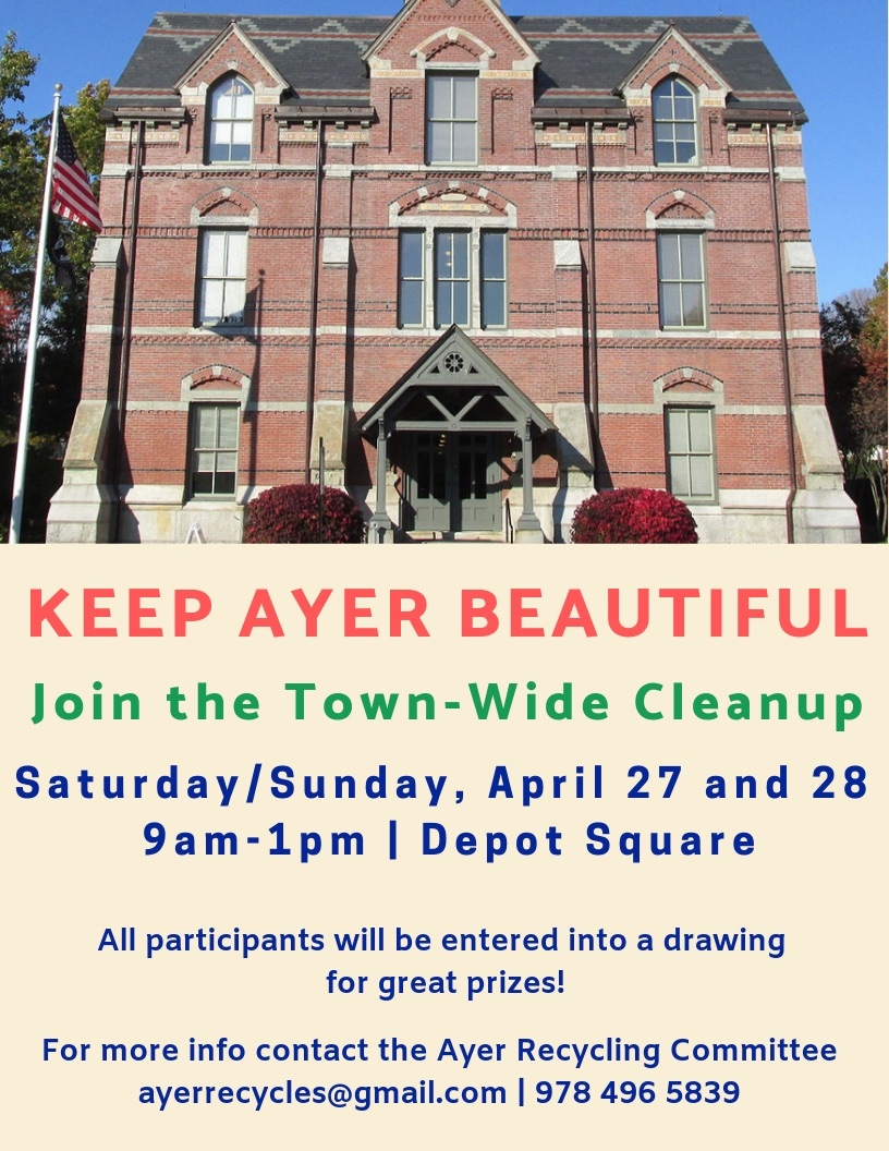 Ayer Town-Wide Cleanup Weekend