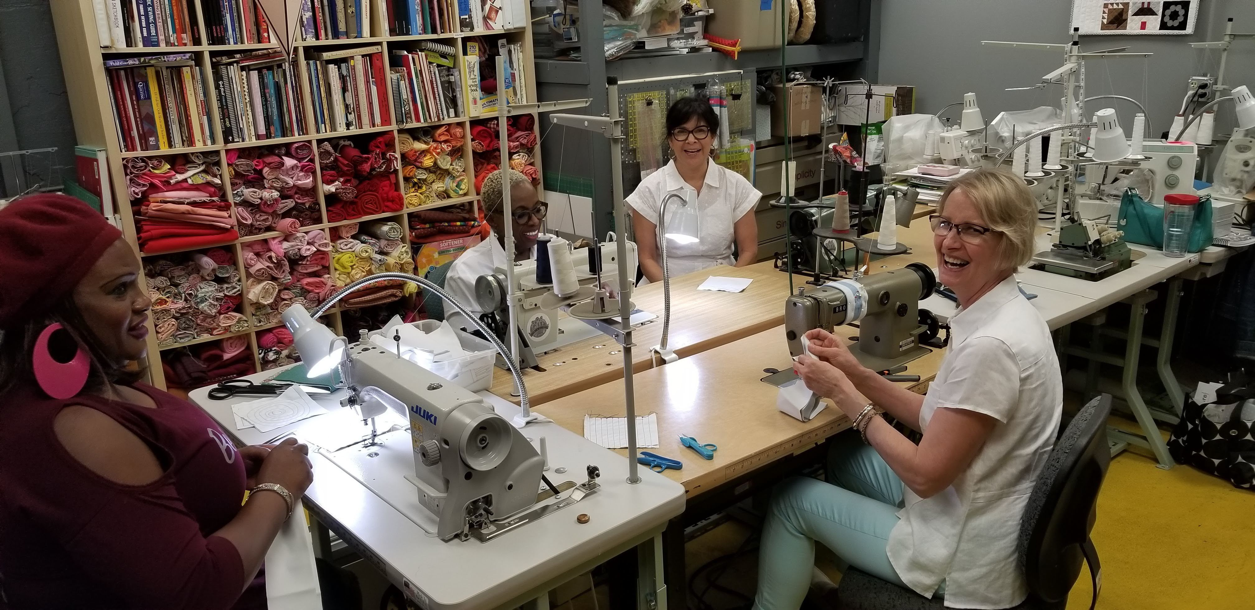 Sewing Salon Seamstress Training
