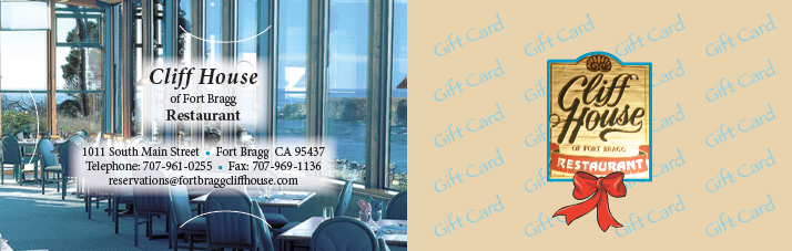 Cliff House Gift Card Carrier 2