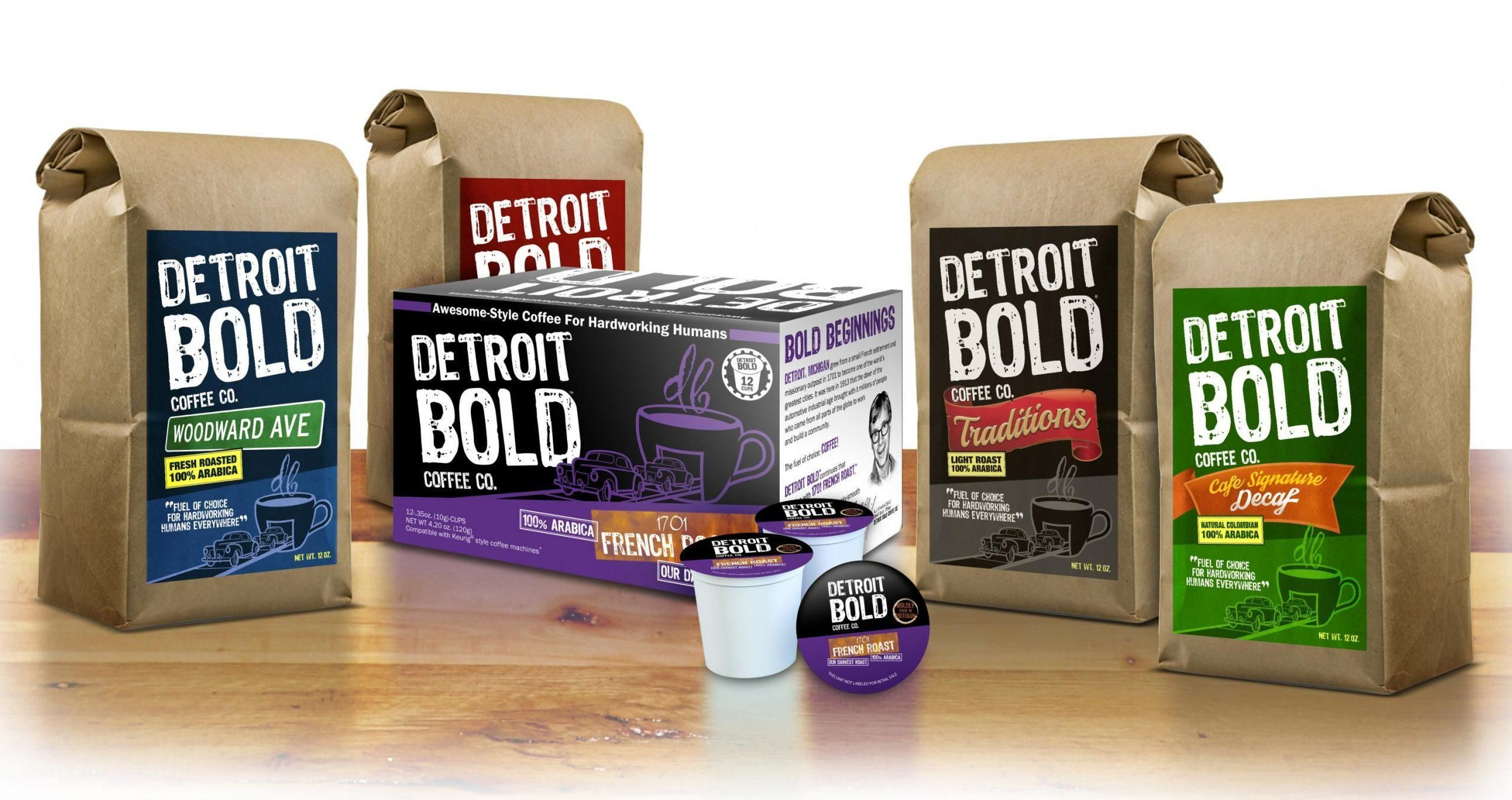 Detroit Bold Coffee Co. fundraiser - running until April 12th, 2021
