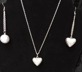 Chiming Silver Earrings