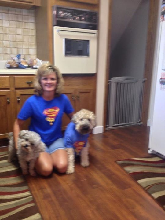 Thank you Kim and puppies for your support!!!