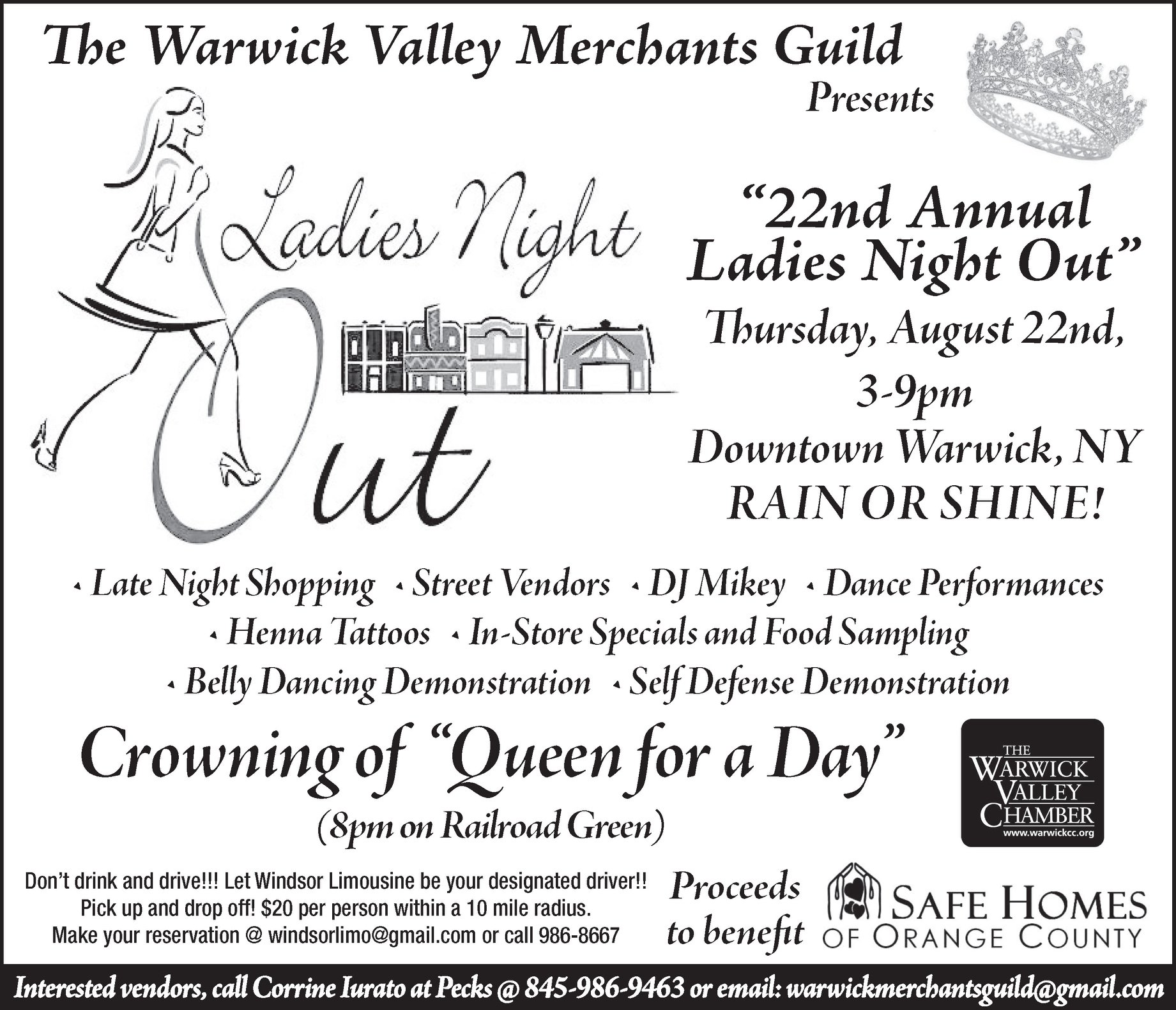 22nd Annual 'Ladies Night Out' in Warwick