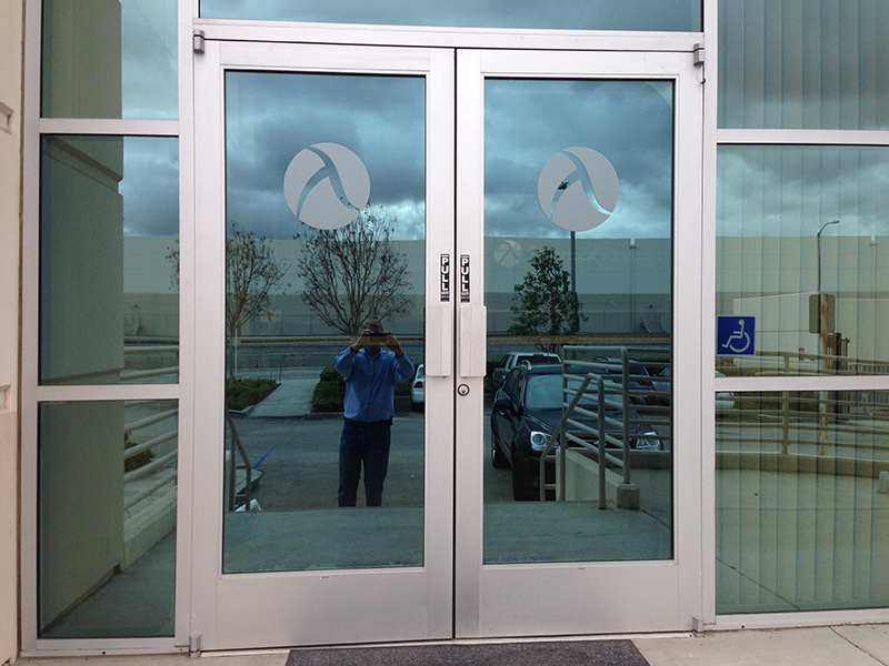 Etched Glass Window Graphics