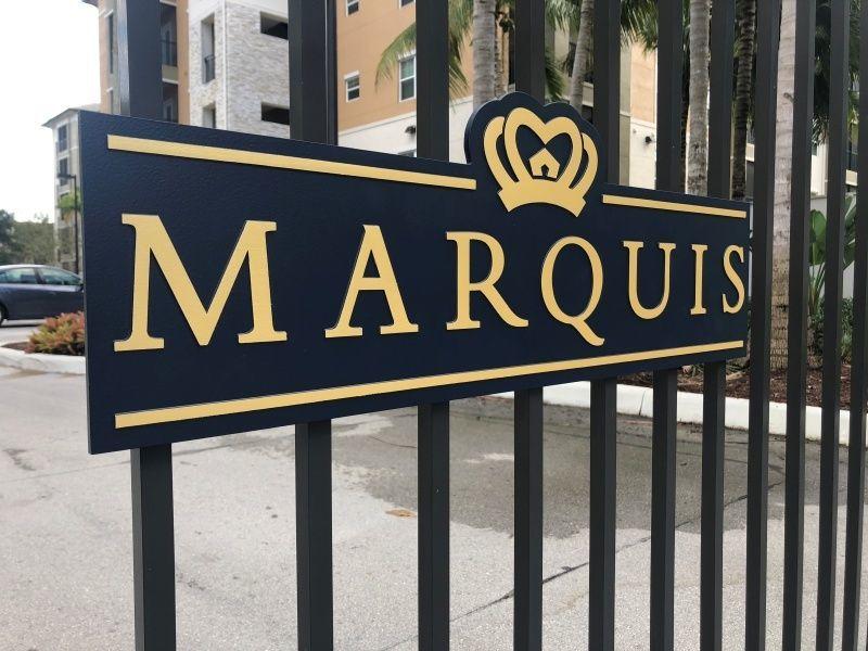 Indoor & Outdoor Signage for Multi-Family Developments - Entrance Signage - Sign Partners, Melbourne, FL