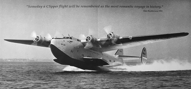 Boeing Clipper 314 Pan Am Exhibit Cradle of Aviation Museum