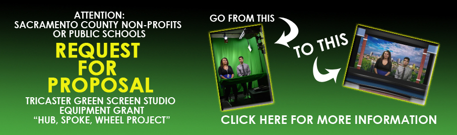 Request For Proposal - Green Screen Project