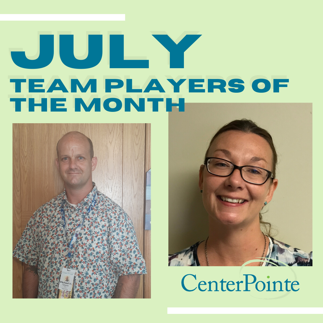 July 2020 Team Players of the Month