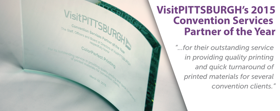 VisitPITTSBUGH Award