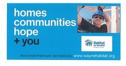 Homes Communities Hope  + You Press Release