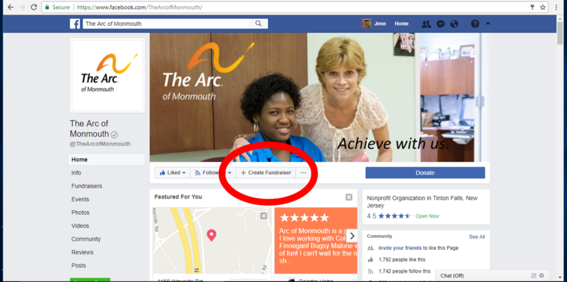Create a Personal Fundraising Campaign for The Arc