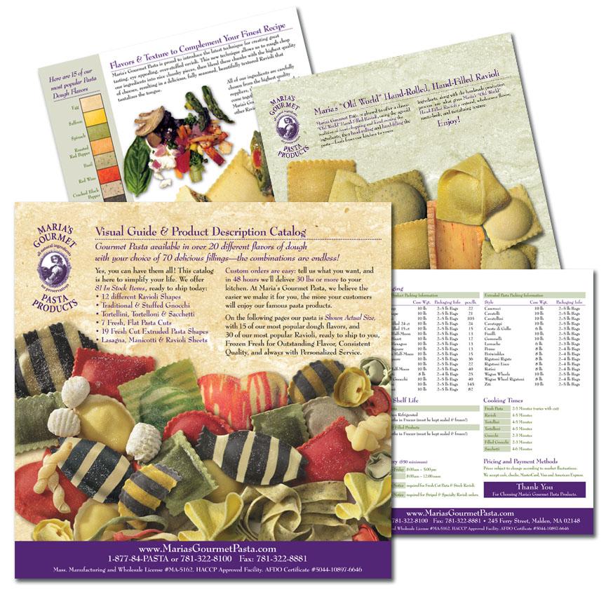 Maria's Gourmet Pasta Catalog, Malden Mass.