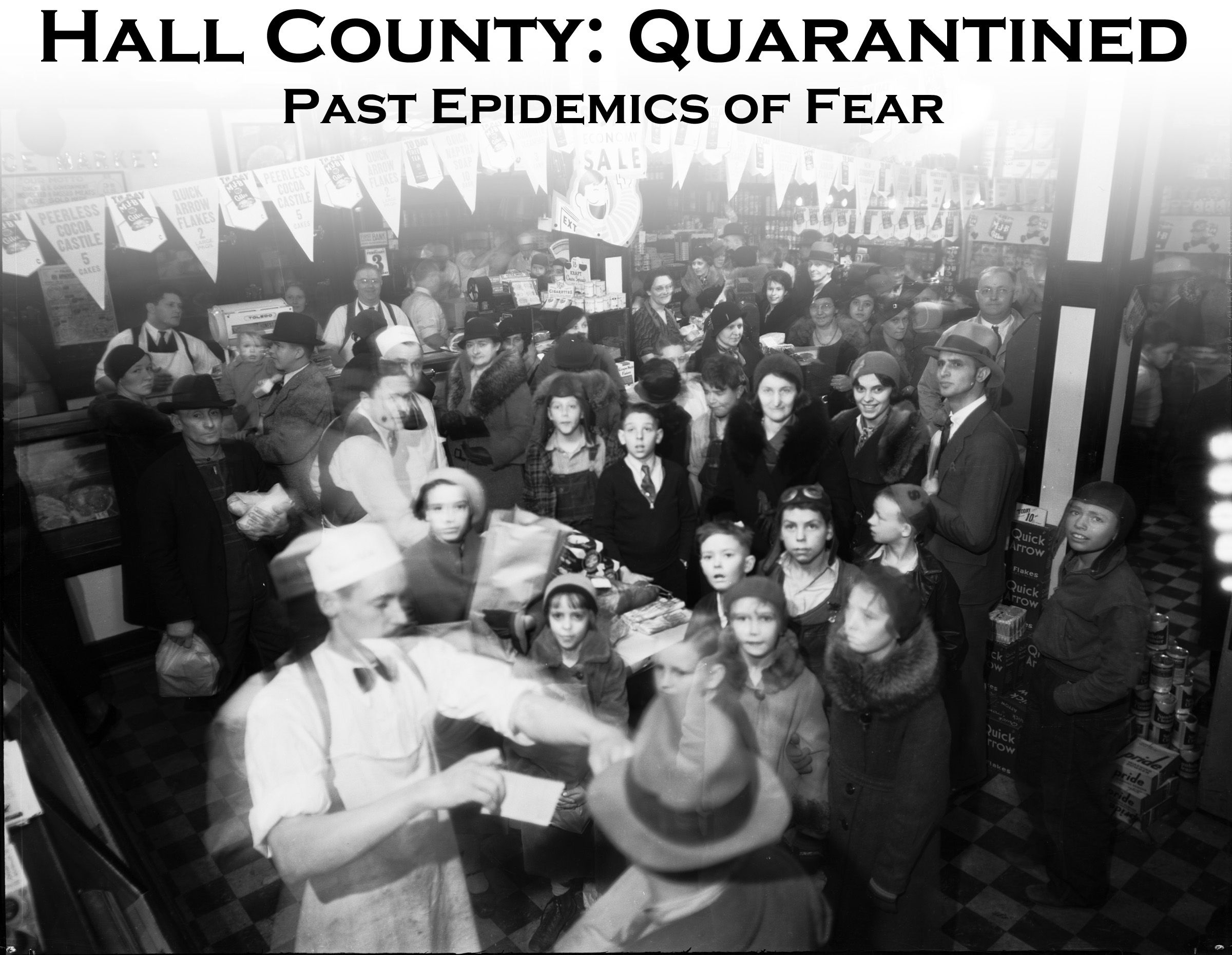 Hall County: Quarantined