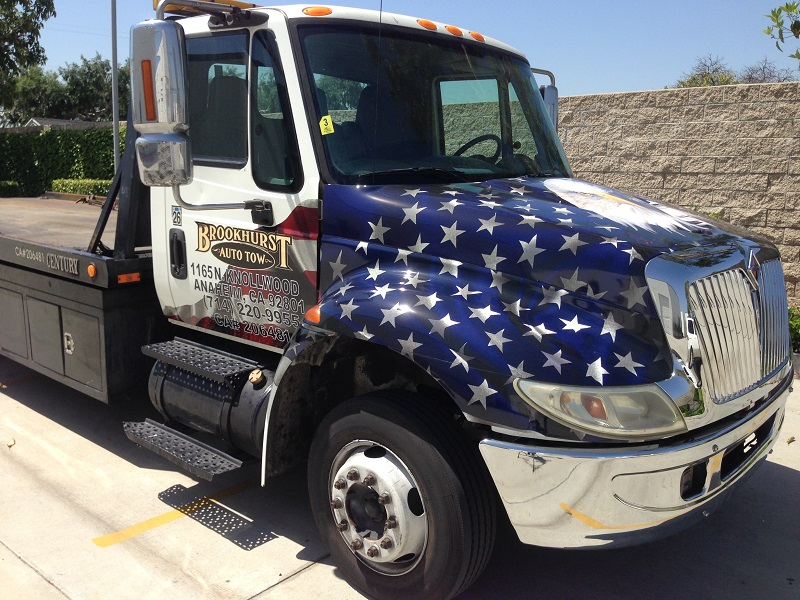 Tow Truck Wrap