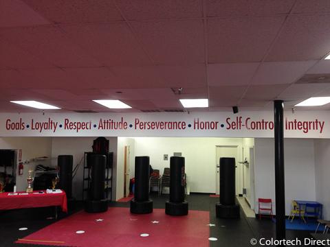 Taekwondo Studio Walls