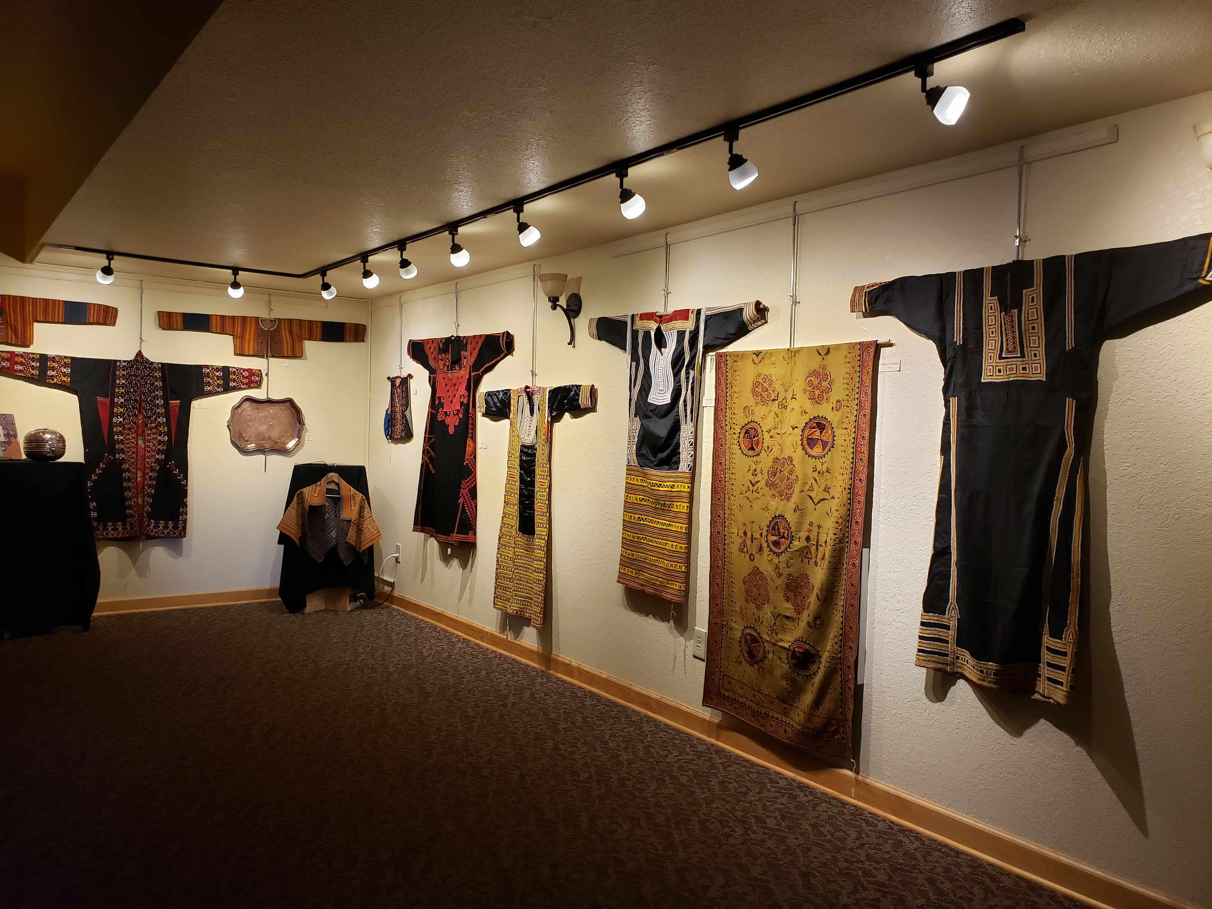 Textiles and Costumes from Afar Gallery Exhibit
